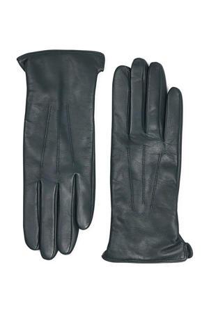 leren handschoenen groen