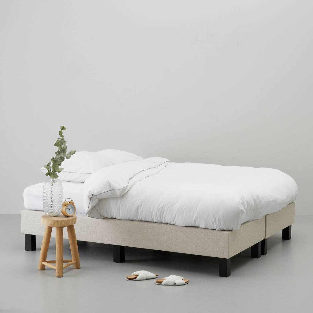 whkmp's own complete boxspring Calgary (140x200 cm), Zand