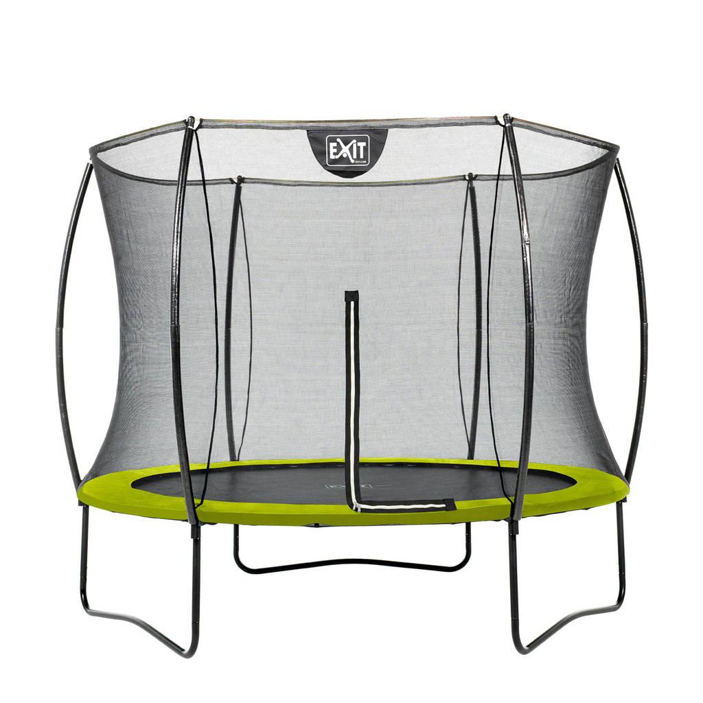 EXIT Silhouette trampoline Ø244 cm, Limegroen