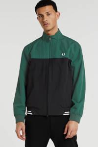 Fred Perry zomerjas groen/zwart, Groen/zwart
