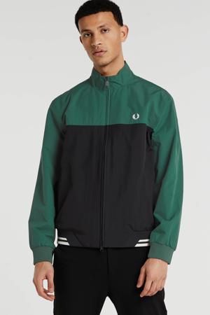 zomerjas groen/zwart