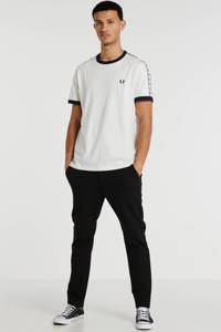 Fred Perry T-shirt met logo wit, Wit