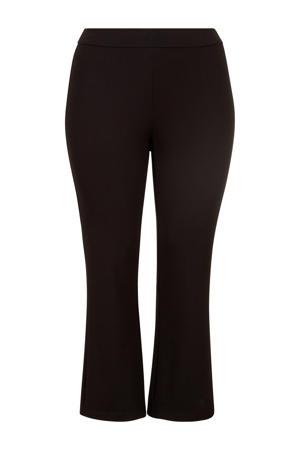 straight fit legging zwart