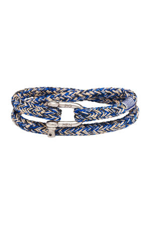 armband  Salty Steve kobaltblauw