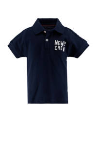 born to be famous. baby polo met contrastbies marine/wit, Marine/wit