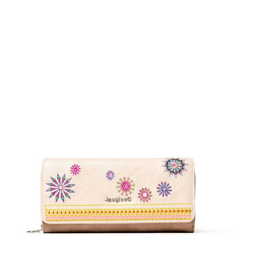 Desigual portemonnee beige, Beige