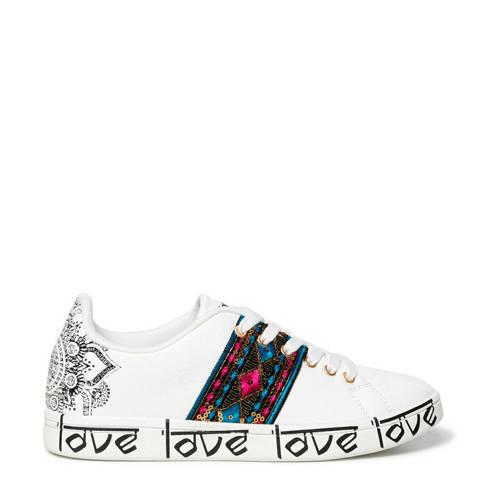 Desigual sneakers wit/multi