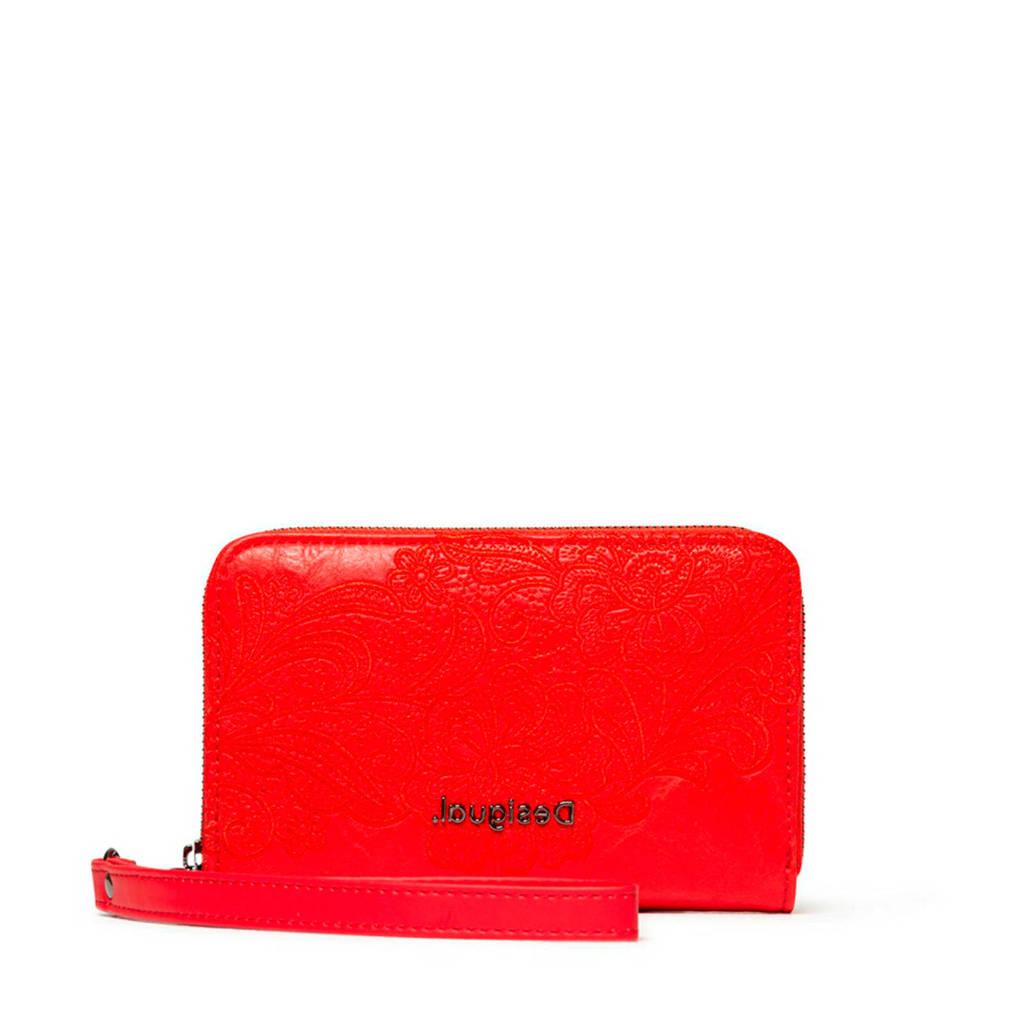 Desigual portemonnee rood, Rood