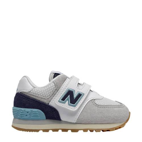 New Balance 574 sneakers wit/blauw/grijs