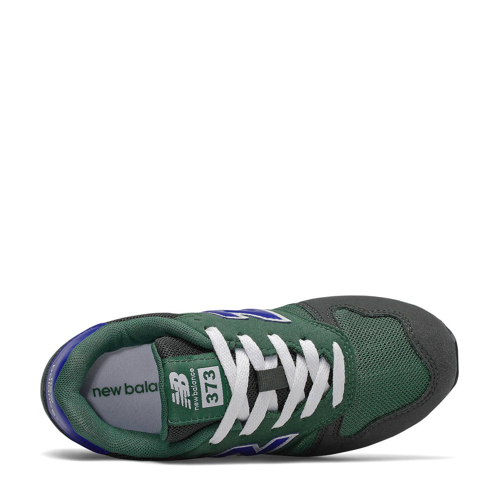 New Balance 373 sneakers blauw/donkergroen | wehkamp