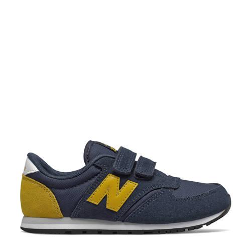 New Balance 420 sneakers donkerblauw/geel