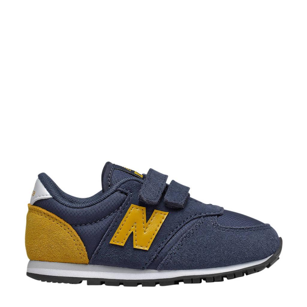 New Balance 420  sneakers donkerblauw/geel, Donkerblauw/geel