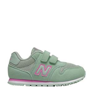 500 sneakers mintgroen/roze