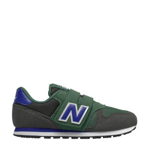 373  sneakers groen/donkerblauw