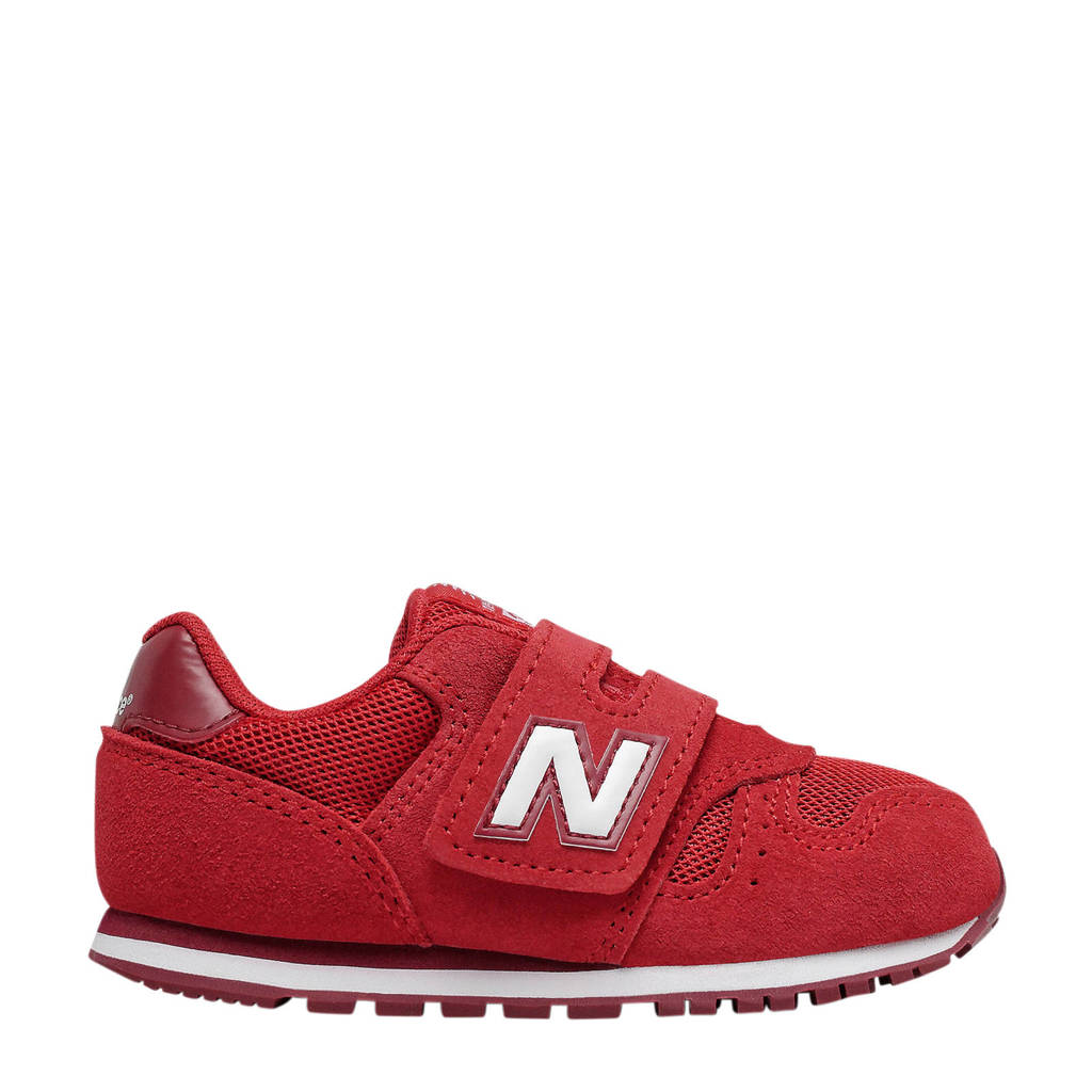 New Balance 373  sneakers rood/wit, Rood/wit
