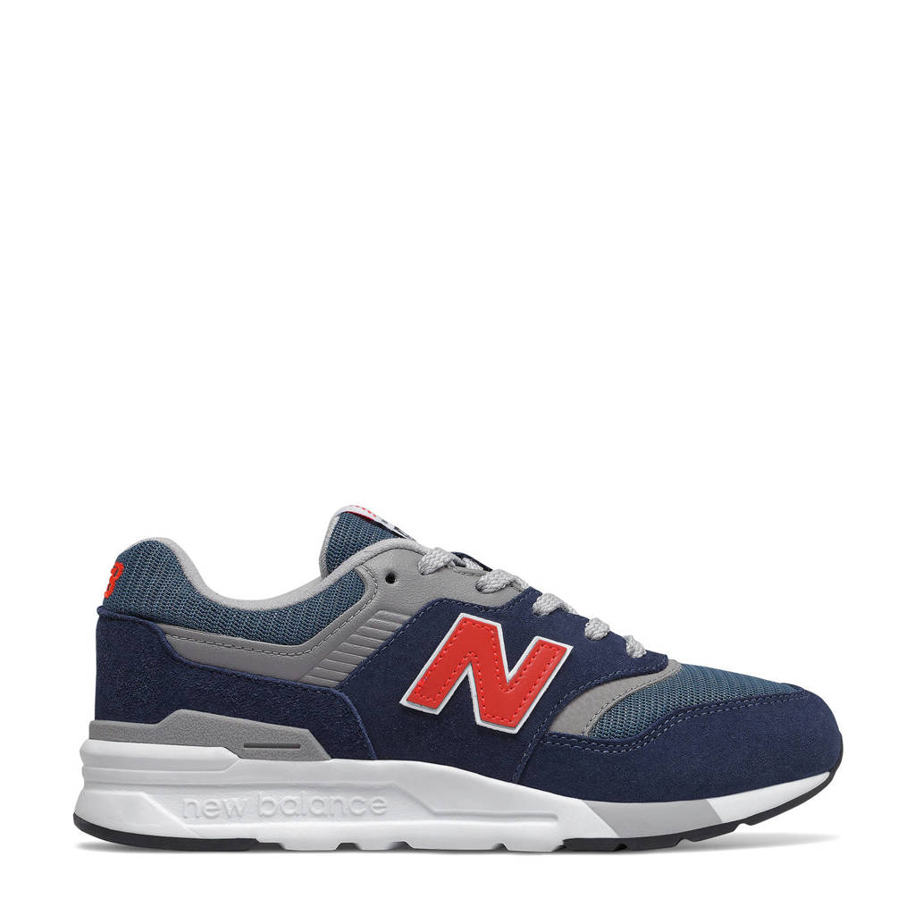 New Balance 997  sneakers donkerblauw/grijs/rood, Donkerblauw
