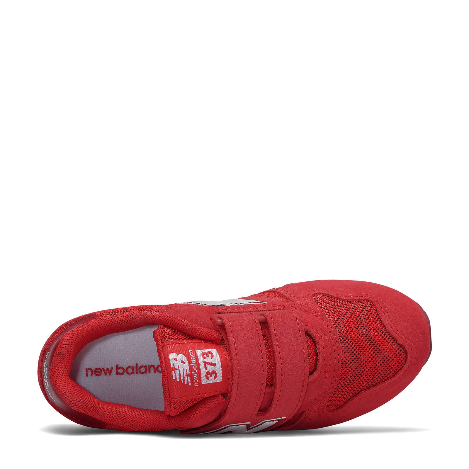 New Balance 373 sneakers rood/wit | wehkamp