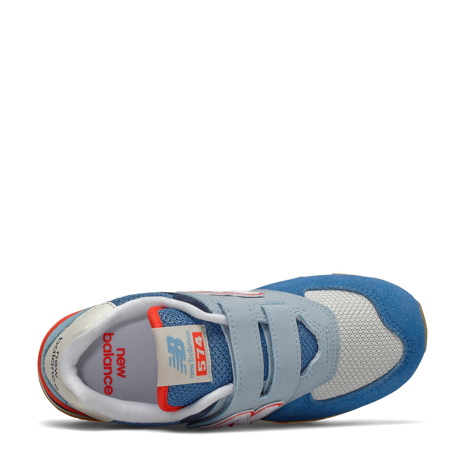 blauwe new balance sneakers kl574