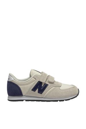 420  sneakers ecru/donkerblauw