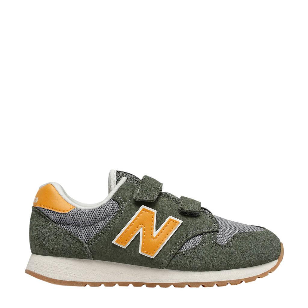New Balance 520  sneakers grijs/groen/geel, Grijs/groen/geel