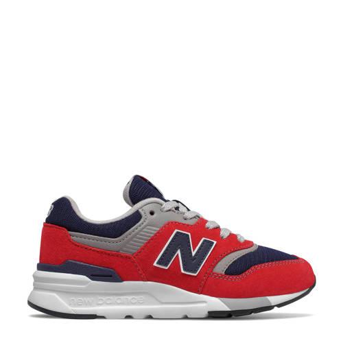 New Balance 997 sneakers rood/blauw/grijs