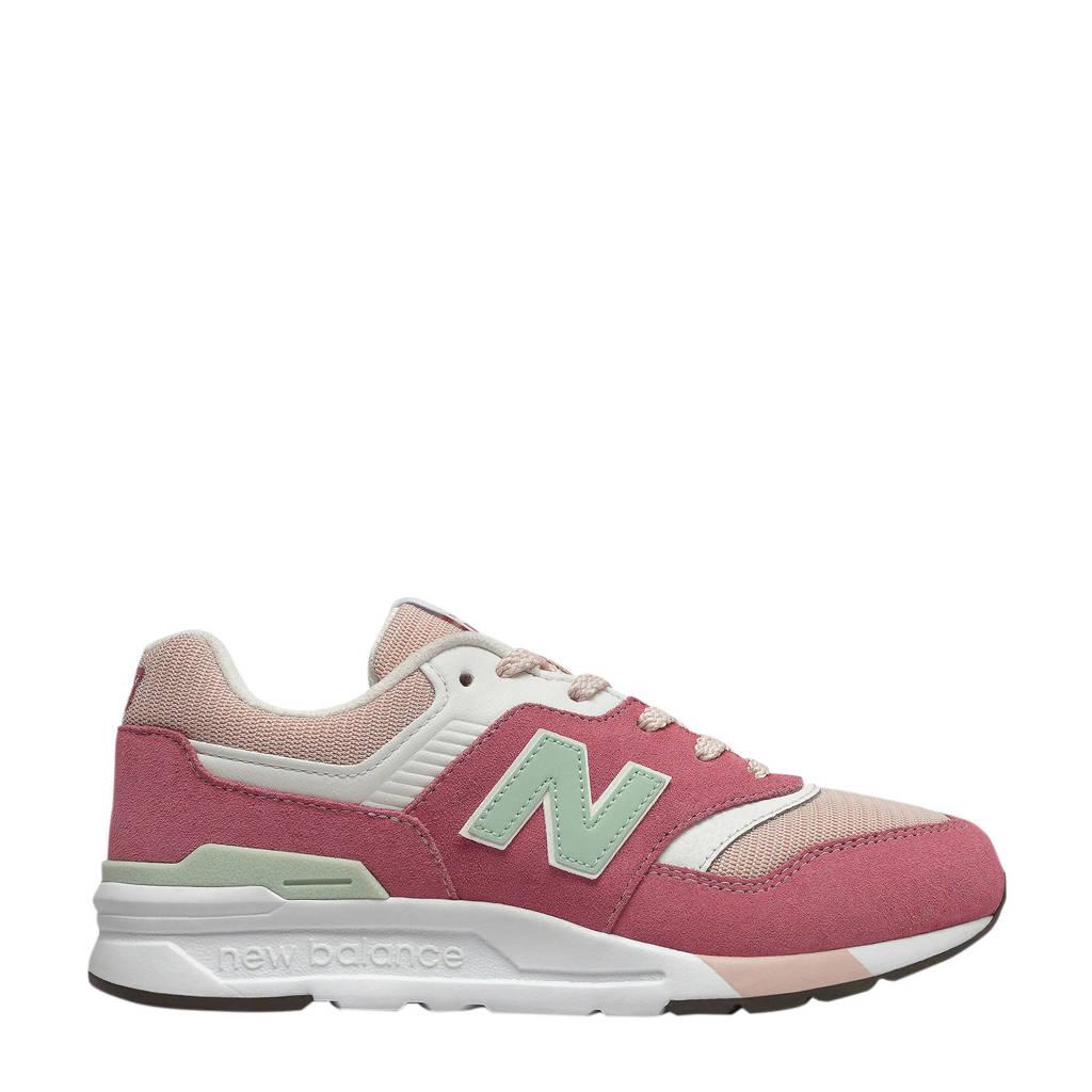 New Balance 997  sneakers roze/wit, Roze/wit