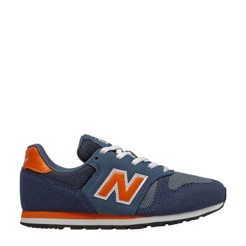 New Balance 373 sneakers donkerblauw/oranje