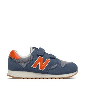 520  sneakers blauw/oranje