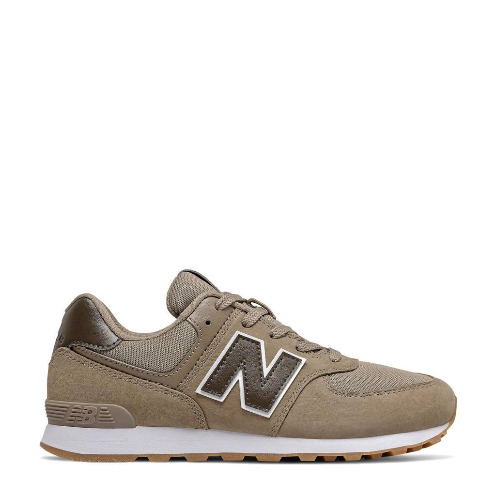 New Balance 574  sneakers zand, Zand