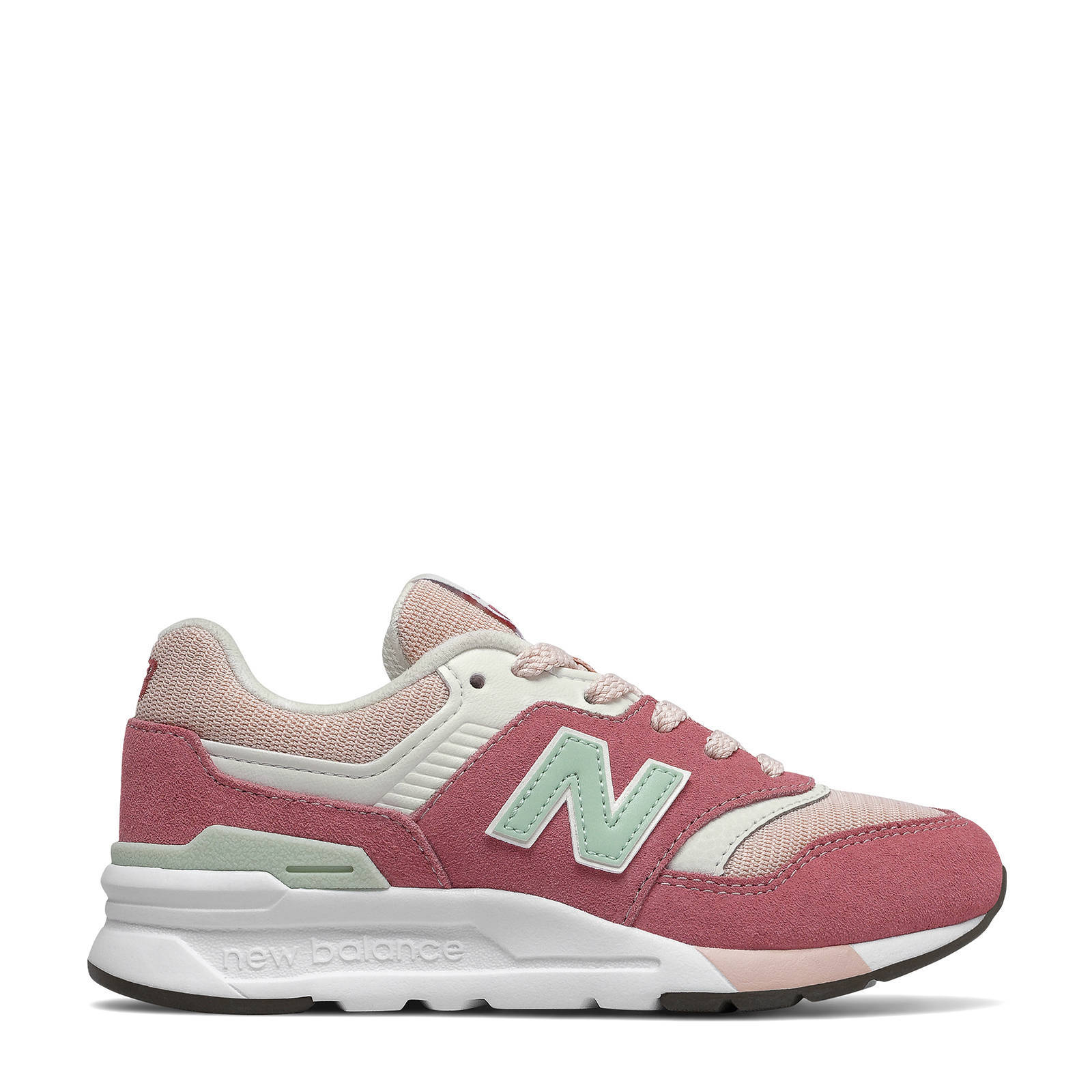 new balance 997 heren roze
