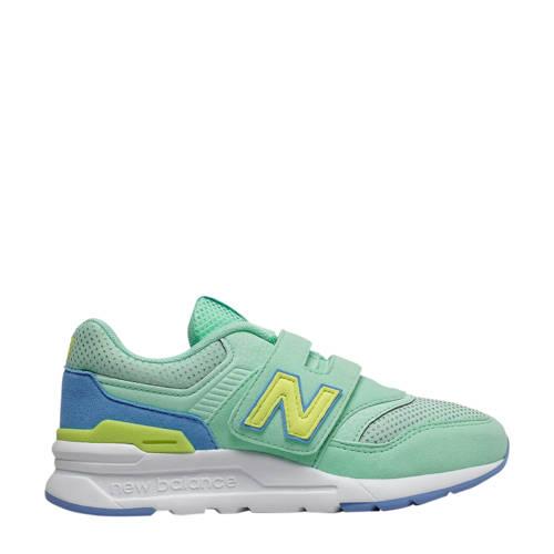 New Balance 997 sneakers mintgroen/geel/blauw