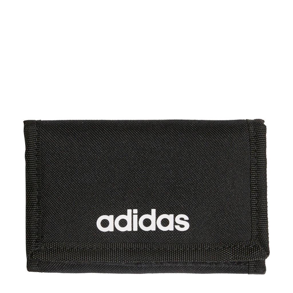 adidas Performance portemonnee zwart/wit, Zwart/wit