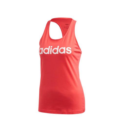 adidas Performance sporttop roze/wit