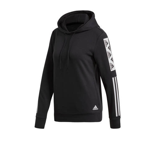 adidas Performance sportsweater zwart/wit