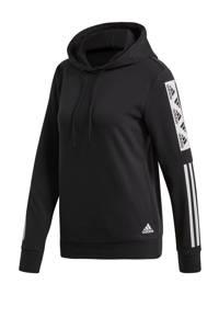 adidas Performance sportsweater zwart/wit, Zwart/wit