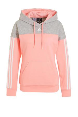sportsweater roze/grijs