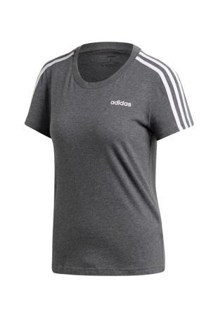 sport T-shirt grijs/lila