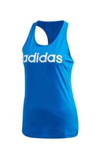 adidas Performance sporttop blauw, Blauw