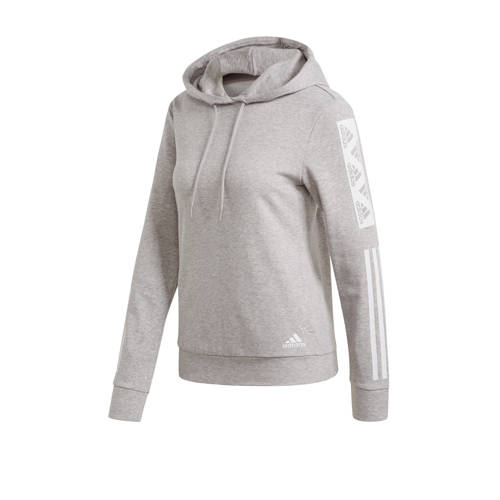 adidas Performance sportsweater grijs/wit