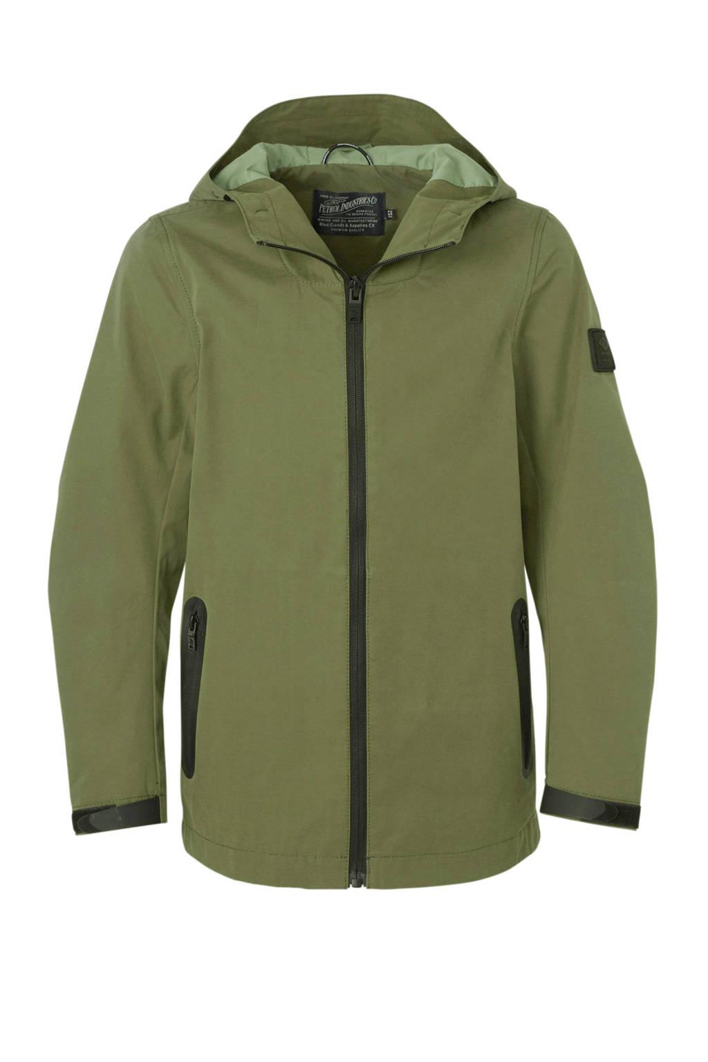 Petrol Industries zomerjas army groen/zwart, Army groen/zwart