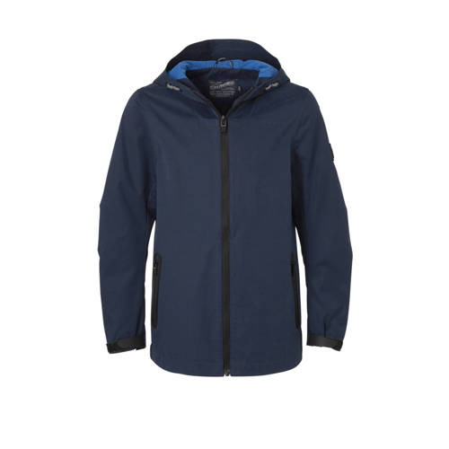 Petrol Industries zomerjas donkerblauw/zwart