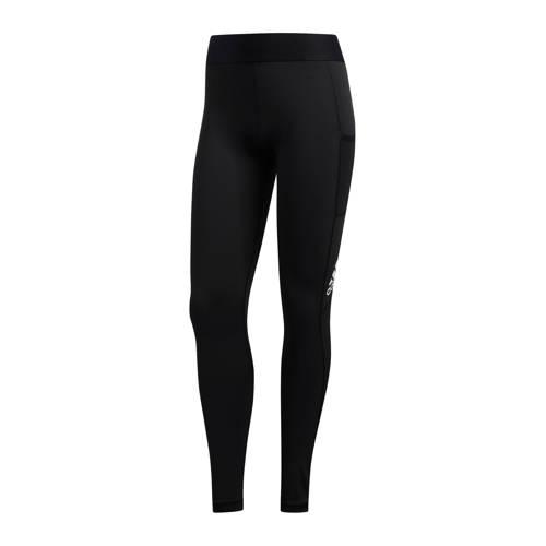 Adidas Legging voor cardiofitness dames zwart