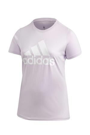 Plus Size sport T-shirt lila