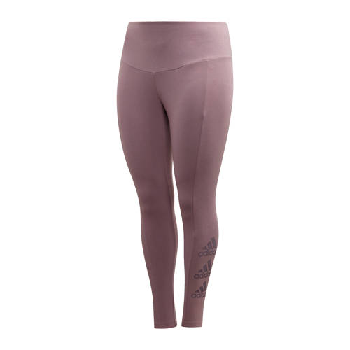 adidas performance Plus Size sportbroek paars
