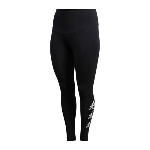 adidas performance Plus Size sportbroek zwart