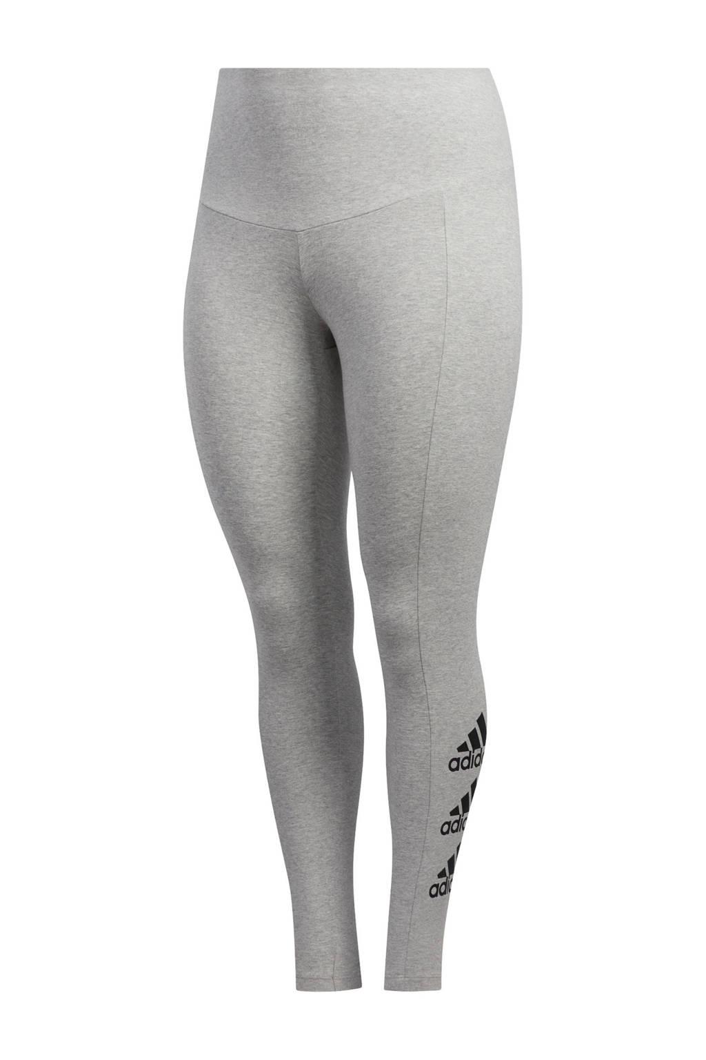 adidas Performance Plus Size sportbroek grijs, Grijs