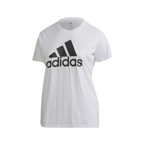 adidas Performance Plus Size sport T-shirt wit