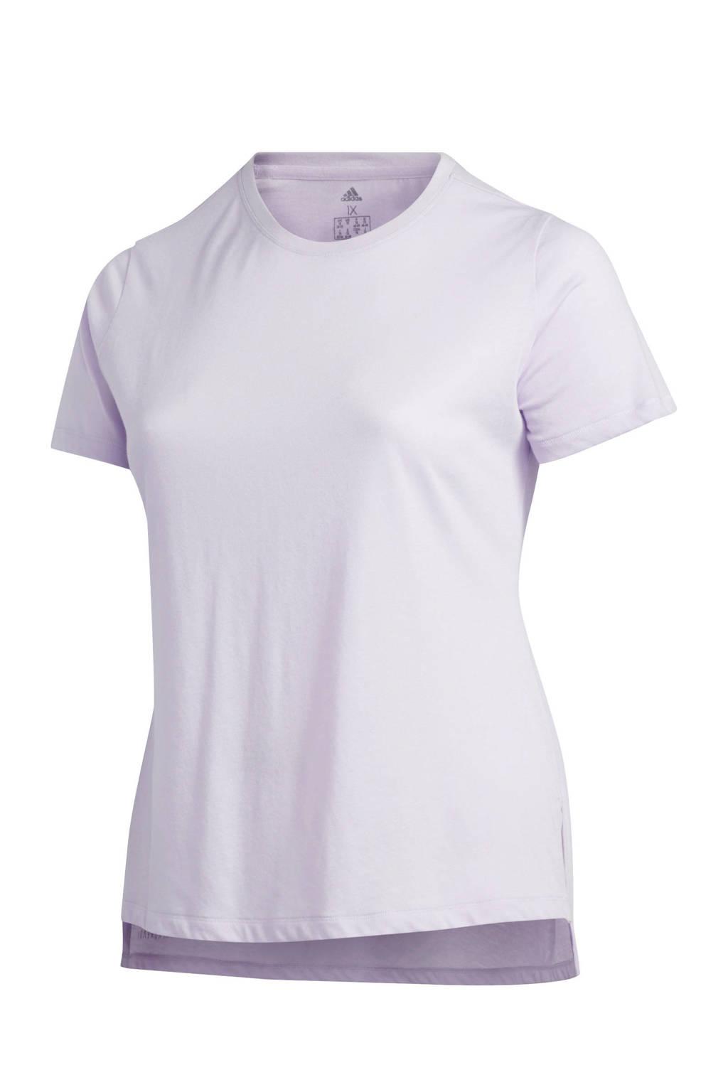adidas performance Plus Size sport T-shirt lila, Lila