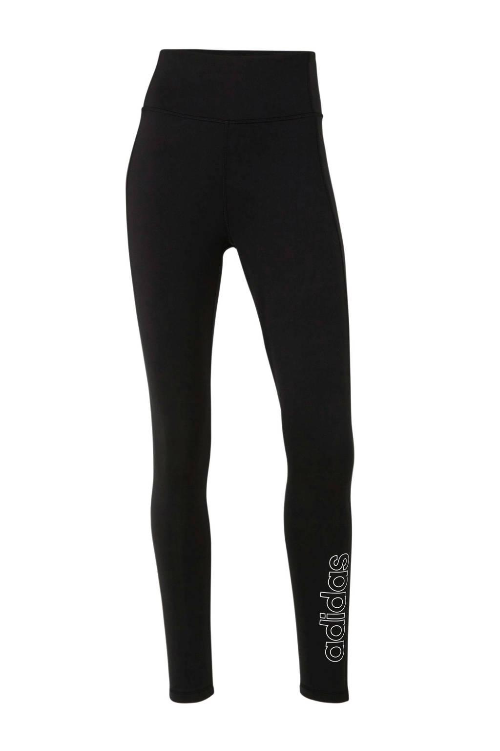 adidas Performance sportbroek zwart, Zwart/wit