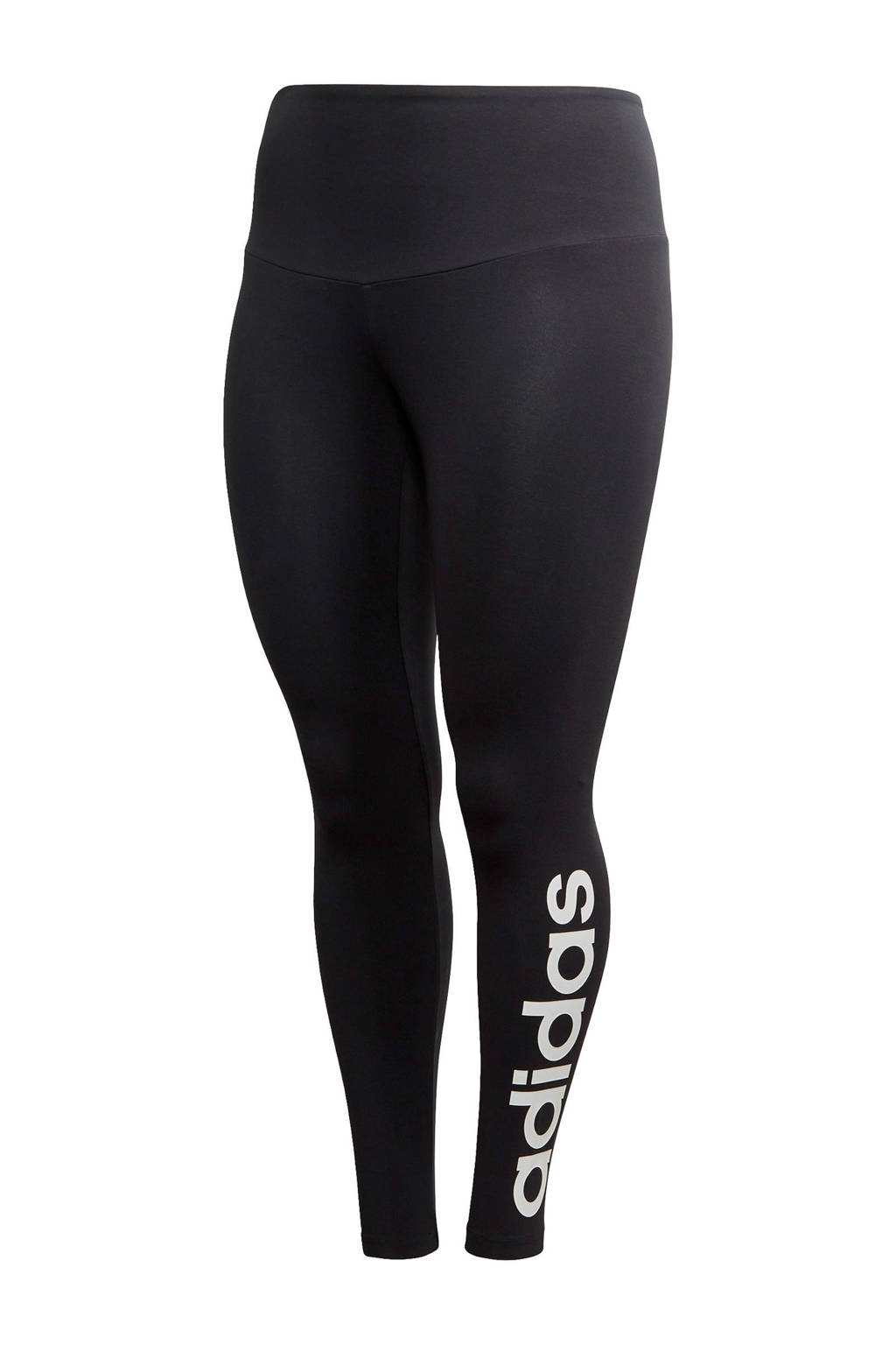 adidas performance Plus Size sportbroek zwart, Zwart